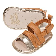 Baby Girl OshKosh B'gosh® Strappy Sandal Crib Shoes