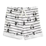 Disney's Mickey Mouse Baby Girl Printed French Terry Shorts by Jumping Beans®