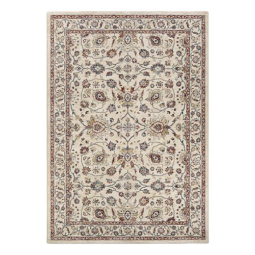 Couristan Monarch Kerman Vase Framed Floral Rug