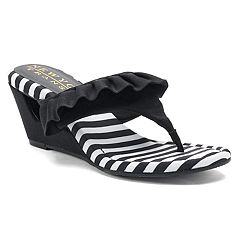 New York Transit Vital Moment Women's Wedge Sandals