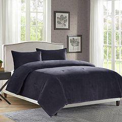 Heathered Velvet 3-piece Comforter Set