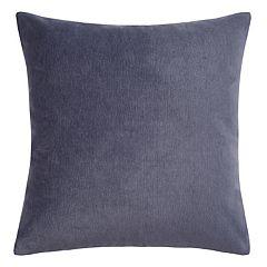 Heathered Velvet Throw Pillow