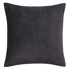 Heathered Velvet Throw Pillow