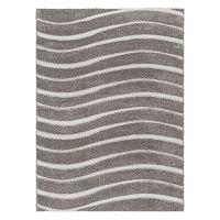 KHL Rugs Waveland Contemporary Striped Shag Rug