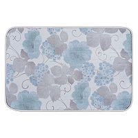 KHL Rugs Hydrangea Transitional Floral Printed Comfort Mat