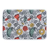 KHL Rugs Exotic Fruit Botanical Printed Comfort Mat