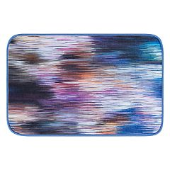 KHL Rugs Rainbow Stria Contemporary Abstract Printed Comfort Mat