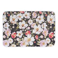 KHL Rugs Flowers Transitional Printed Comfort Mat