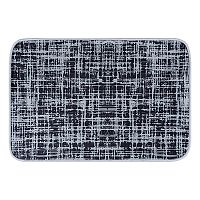KHL Rugs Watson Contemporary Solid Printed Comfort Mat
