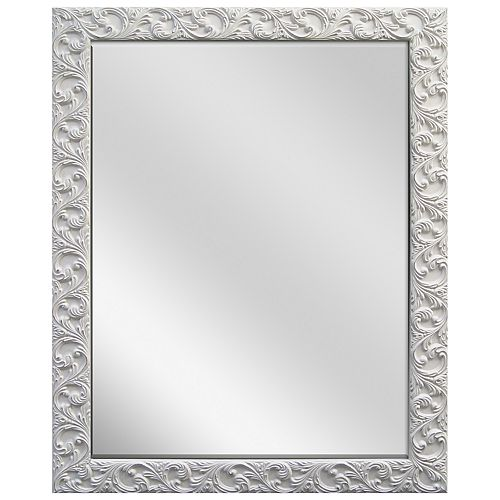 Belle Maison Ornate Shabby Chic Wall Mirror