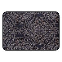 KHL Rugs Filigree Transitional Brocade Printed Comfort Mat