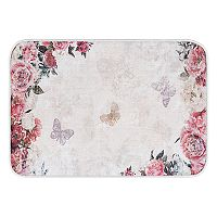 KHL Rugs Romance Transitional Floral Printed Comfort Mat