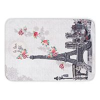 KHL Rugs Francais Transitional Floral Printed Comfort Mat