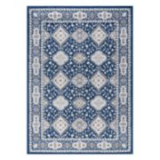 KHL Rugs Syracuse Traditional Framed Floral Rug