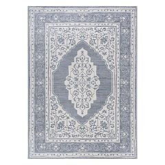 KHL Rugs Kerr Traditional Framed Floral Rug