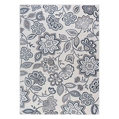 KHL Rugs Emmalyn Transitional Floral Rug