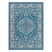 KHL Rugs Celestina Traditional Framed Floral Rug