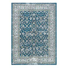 KHL Rugs Lucia Traditional Framed Floral Rug