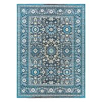 KHL Rugs Serafina Traditional Framed Floral Rug
