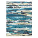 KHL Rugs Caruso Contemporary Stripe Abstract Rug