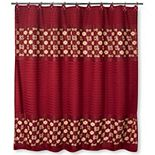 Popular Bath Elegant Rose Shower Curtain