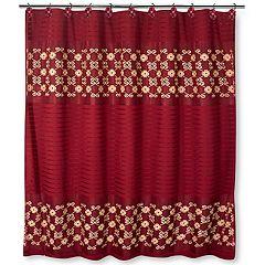 Popular Bath Elegant Rose Shower Curtain