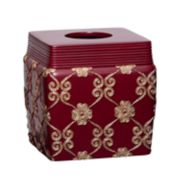 Popular Bath Elegant Rose Tissue Box