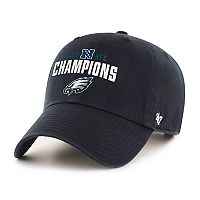 Adult '47 Brand Philadelphia Eagles 2017 NFC Champions Conference Cap