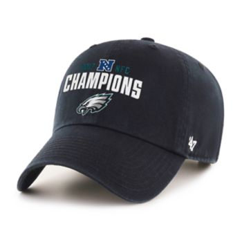 Adult '47 Brand Philadelphia Eagles 2017 NFC Champions Conference Cap