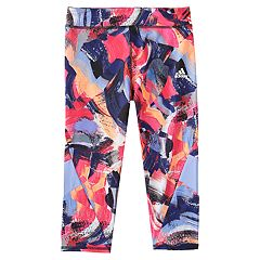 Girls 4-6x adidas Practice Printed Carpi Leggings