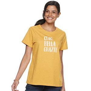 58b11482e10add Women s SONOMA Goods for Life™ Graphic V-Neck Tee
