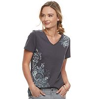 Women's SONOMA Goods for Life™ Graphic V-Neck Tee