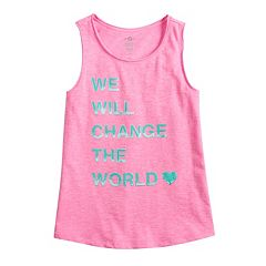 Girls 7-16 & Plus Size SO® Graphic Tank