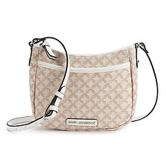 Dana Buchman Maple Jacquard Crossbody Bag