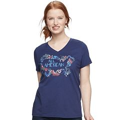 Women's SONOMA Goods for Life™ Essential Graphic V-Neck Tee