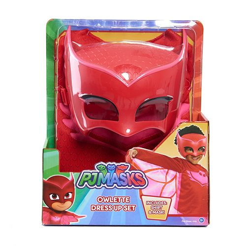 PJ Masks Deluxe Dress Up Top & Mask Set