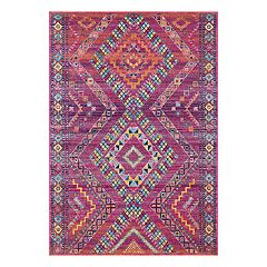 nuLOOM Jina Tribal Diamonds Geometric Rug