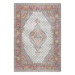 nuLOOM Jessia Persian Framed Medallion Rug