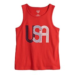 Boys 4-10 Jumping Beans® 'USA' Tank Top
