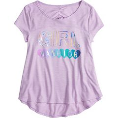 Girls 7-16 & Plus Size SO® Ruched Back Graphic Tee