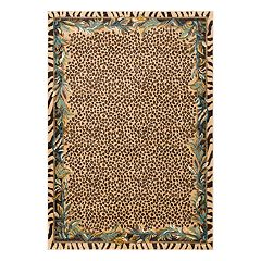 nuLOOM Darcey Contemporary Leopard Print Rug
