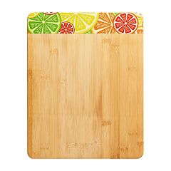Farberware Citrus Border Bamboo Cutting Board