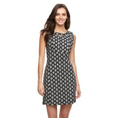 Women's Nina Leonard Printed Sheath Dress
