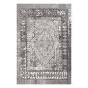 nuLOOM Laplante Vintage Framed Floral Rug