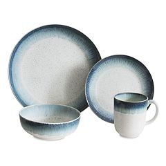 Baum Marina Blue 16-pc. Dinnerware Set