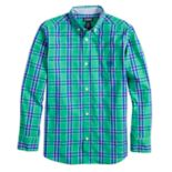 Boys 4-20 Chaps James Plaid Button-Down Shirt
