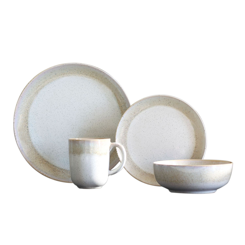 sc 1 st  Kohlu0027s & Baum Marina Sand 16-pc. Dinnerware Set