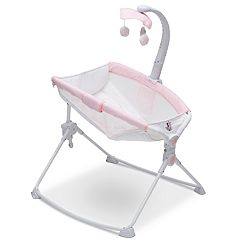 Disney's Minnie Mouse Deluxe 3-in-1 Activity Rocker, Feeder & Incline Sleeper for Newborns
