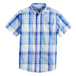 Boys 4-20 Chaps Milo Plaid Button-Down Shirt