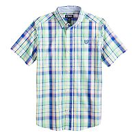 Boys 4-20 Chaps Victor Plaid Button-Down Shirt